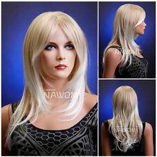 Female Glamorous Blond Wig Mannequin Head Hair Wigs + wig cap