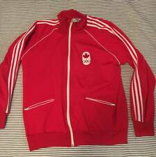 Vintage Canada Olympic Adidas Track zipup from years ago