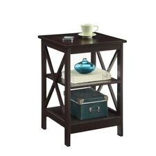 31625c30bd5 Convenience Concepts Oxford End Table Espresso