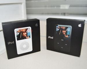 New Apple iPod Classic Video 5/5.5th Gen 30GB/60GB/80GB MP3 Player -Warranty
