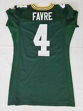 #4 Brett Favre Green Bay Packers NFL Equipment Room Jersey (Size 46)