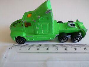 camion tracteur kenworth modele vert 2 essieux - majorette
