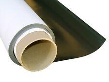 Magnetfolie weiß matt beschichtet 1mm x  50cm x  50cm