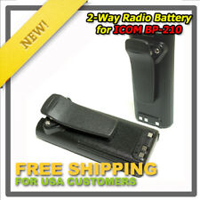 2-Pack Replacement BP-210N/210 Battery for ICOM IC-T3H IC-V8 F21 IC-V82