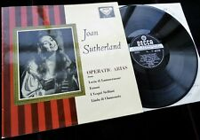Operatic Arias - Joan Sutherland **Decca SXL 2159 WBg ED1 LP**