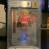 2014 Panini Contenders Championship Ticket Carlos Hyde 33/49 RC Auto BGS 9/10 SP