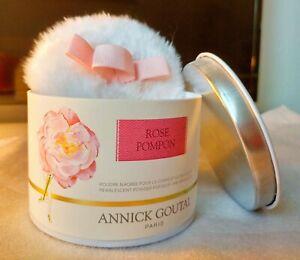 Annick Goutal *Rose Pompon Talco Pearlescent Powder Body&Décolleté !Discontinued
