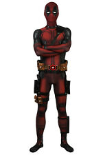 Deadpool Jumpsuit Wade Cosplay Costume Deadpool Costume Fancy Dress Whole Outfit
