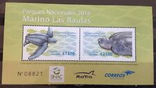 Costa Rica - Postfris/MNH - Sheet National Parcs 2016 NEW!