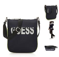 GUESS Pouch Crossbody Bag 6285 Sport Vibes Med Nylon Bags DB Navy Slim Case BNWT