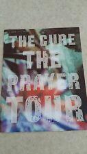 The cure tour program book