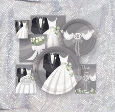 Decoración de color principal plata para bodas