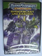 Transformers Energon: Shockblast Unleashed - DVD NTSC Region 1 *NEW & SEALED*