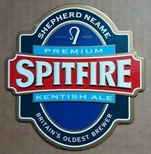 SHEPHERD NEAME SPITFIRE Premium Bitter Bar Pub Beer Pump Sign