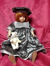 "TRIXIE by Pauline Bjonness Jacobsen 12"" Cloth/Porcelain LTD ED 950"