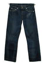 LEVI'S PREMIUM HESHER CAT SCRATCH BUTTON-FLY BLUE DENIM JEAN W30 L30 (30 31) USA