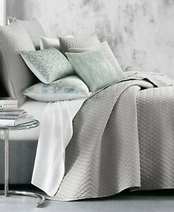 Hotel Collection Meadow Cotton Quilted King Coverlet Color Toffee $335