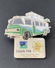Rare London 2012 Olympics Pin Badge Lloyds TSB Sponsor Torch Relay Bus
