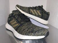 NWOB Adidas Pureboost Go Women's Running Shoes Black Gold F36346 Size 9
