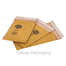 50 x Gold Padded Jiffy Envelopes Genuine Airkraft JL4 A4 Size 240 x 320mm
