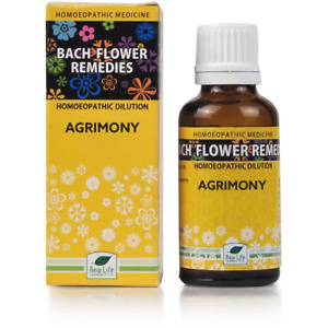 New Life Bach Flower Rescue Agrimony 30ml 30 ml # FAST DELIVERY