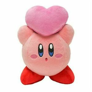 Kirby of the Stars KP33 Stuffed Kirby Throwing Friends Heart Plush Doll Toy