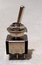 NEW OLDSTOCK 2 POSITION TOGGLE SWITCH ON ON J&J S361 FOR PARKER USA GUITAR