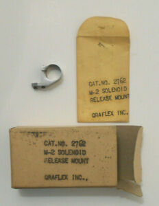 GRAFLEX M-2 SOLENOID Release MOUNT-Cat.# 2762-vtg CAMERA accessory
