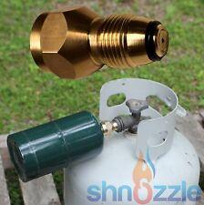 Refill small 1 LB Propane Bottle tanks camping fishing adapter SURVIVAL kit TOOL