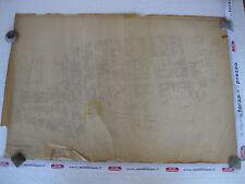 ROMA Mappa Catastale 623 Casilina Prenestina V. del Pigneto Fanfulla 1943 c