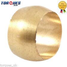 """1/2""""  Tube / Pipe / Hardline Adapter Brass Olive / Insert"""