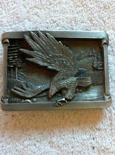 EAGLE FLYING BELT BUCKLE BUCKLES OF AMERICA MASTERPIECE COLLECTION BA-212