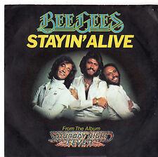 """Bee GEES-rimarrà in vita/se non posso avere te 7"""" SINGLE 1977"""