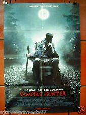 Abraham Lincoln : Vampire Hunter 40X27 Original Int. A Folded Movie Poster 2012