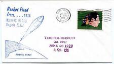 1973 Wallops Island ROCKET FIRED Terrier Recruit Q2.6677 WFF Goddard Base NASA