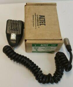 Altec 696C Dynamic Noise Cancelling Microphone Push to Talk Vintage Low Impedanc