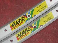 Vintage MAVIC M234 622 17 700c Rims 36 hole Profil PSP 1 Pair 700c Wheels Retro