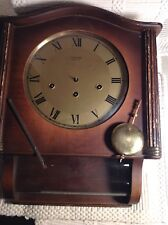 Vintage Jewelers Advertisement Jaccard St. Louis F. MAUTHE LINDEN WALL CLOCK