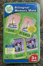 Leapfrog Bilingual Memory Mate Game English and Spanish match game age 3+