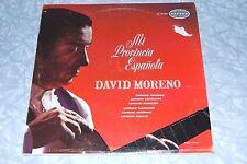DAVID MORENO Mi Provincia Espanola ORFEON GUITAR LP