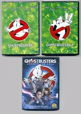 3 Ghostbusters comedy sci-fi movies, new DVDs lot, B Murray, D Aykroyd, McCarthy