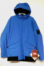 FOURSQUARE Men's HOWL Snow Jacket - True Blue - Large - NWT