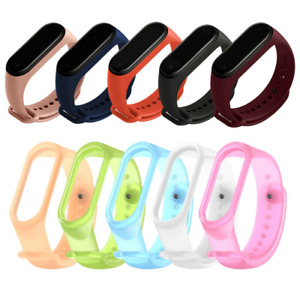 For Xiaomi Mi Band 3 4 Strap Replacement Wrist Bracelets Silicone Watch Band NEW