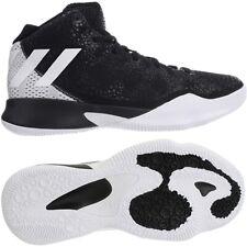 Adidas Crazy Heat schwarz weiß Herren Basketballschuhe Basketballstiefel NEU