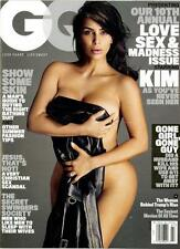 GQ MAGAZINE July 2016; Kim Kardashian Cover; NUDE pics