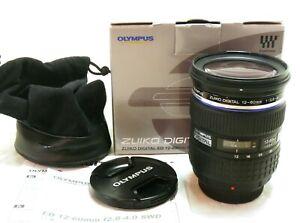 Olympus 12-60mm f/2.8-4 SWD Zuiko Digital ED lens 4/3 Four Thirds boxed MINT-