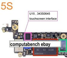 343s0645   touch screen ic for iphone5c / s brand new for iphone5s digitiser