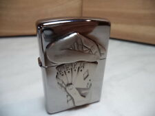 ZIPPO ACCENDINO LIGHTER FEUERZEUG FULL HOUSE SURPRISE EMBLEM NEW