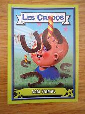 Image * Les CRADOS 3 N°44 * 2004 album card Sticker FRANCE Garbage Pail Kid