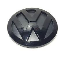 VW BLACK REAR BOOT BADGE EMBLEM LOGO GOLF MK5 SIZE 100mm